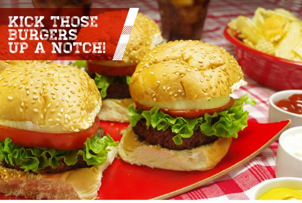 Kick Those Burgers Up a Notch!