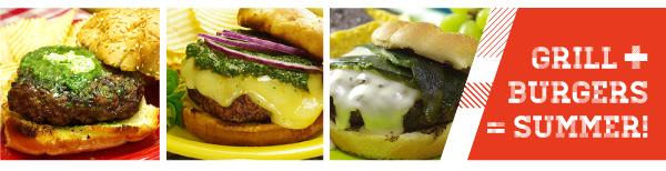 Grill + Burgers = Summer