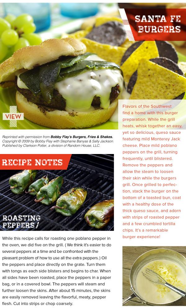 RECIPE: Santa Fe Burgers
