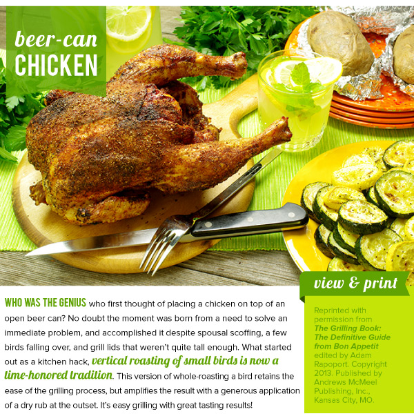 RECIPE: Beer-Can Chicken