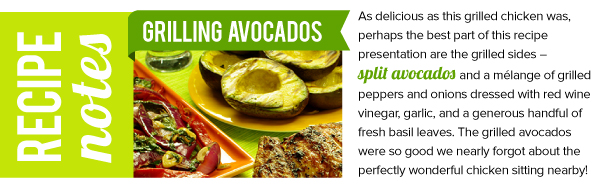 Recipe Notes: Grilling Avocados