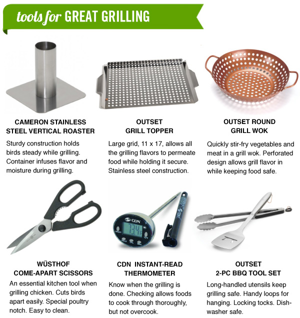 Tools for Great Grilling