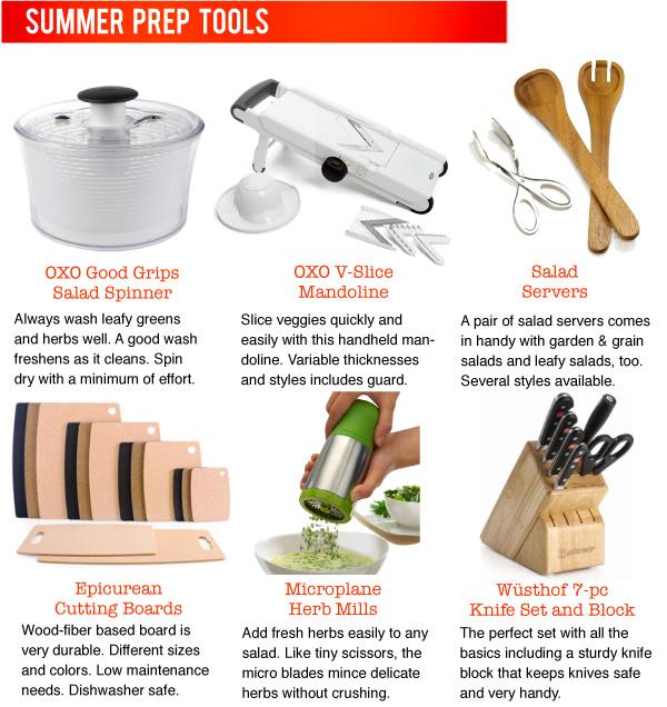 Summer Prep Tools