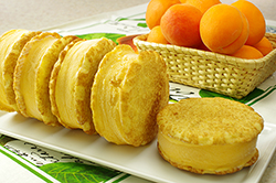 Early Summer Sunrise - Apricot Ice Cream on Snickerdoodles
