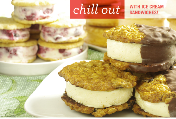 Chill Out with Ice Cream Sandwiches