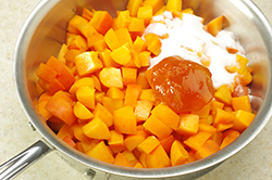 Apricots in Saucepan