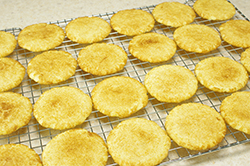 Baked, Cooling Cookies
