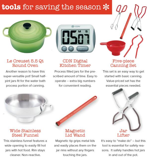 Tools for Saving the Season