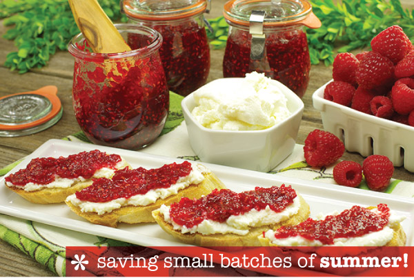 Saving Small Batches of Summer
