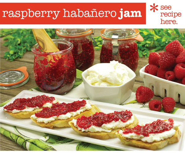 RECIPE: Raspberry Habanero Jam