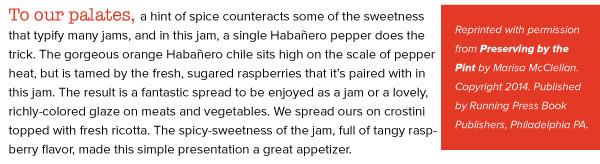 RECIPE: Raspberry Habanero Jam