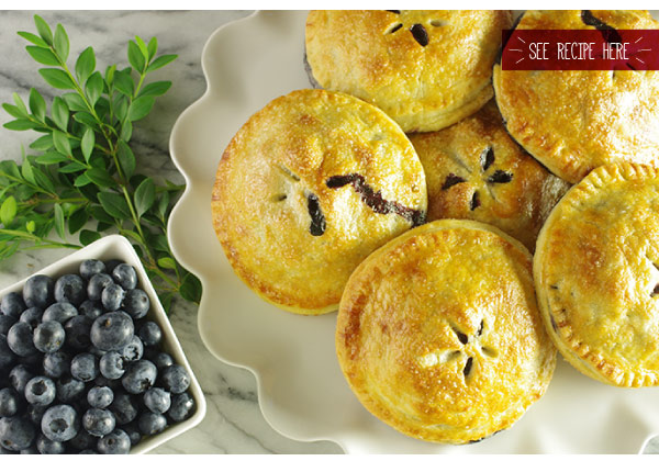 RECIPE: Best Blueberry Hand Pies