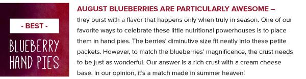 Best Blueberry Hand Pies