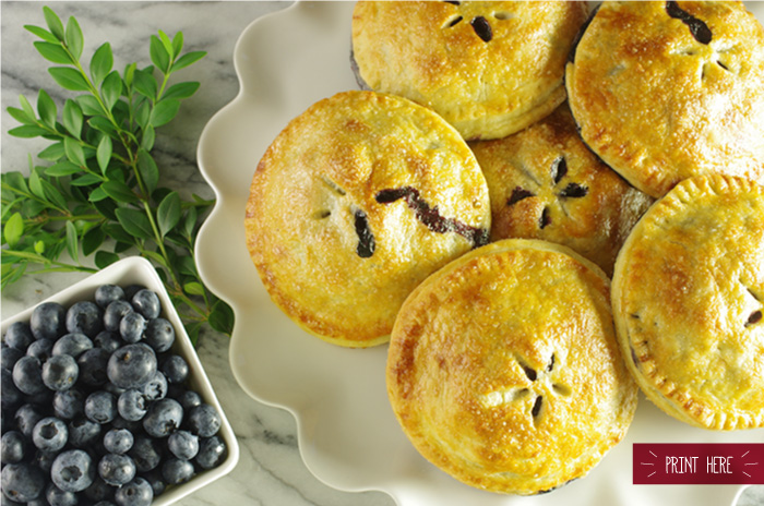Best Blueberry Hand Pies
