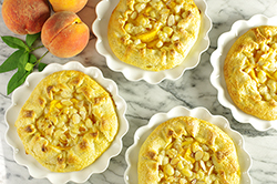 Summer Peach-Almond Galettes