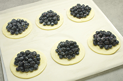 Blueberries Mounded