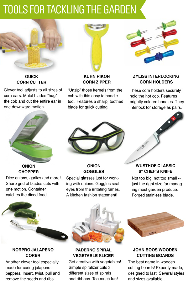 Tools for Tackling the Garden