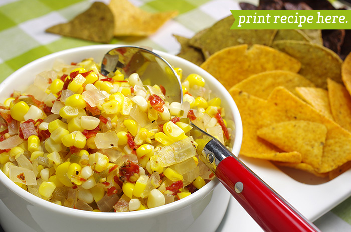 Spicy and Sweet Corn Relish