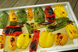 Oven-Roasted Peppers