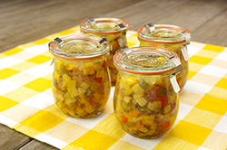 Veggies in Jars
