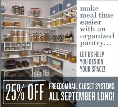Closet System Sale