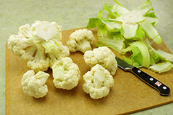 Step 2 - Cutting Cauliflower