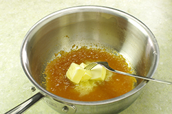 Butter Finishing the Sauce
