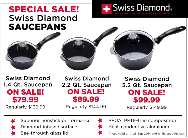Swiss Diamond Pans