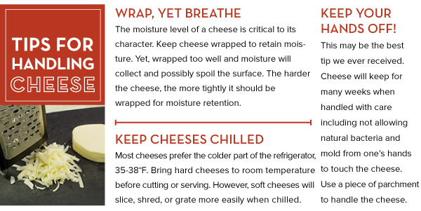 Tips for Handling Cheese
