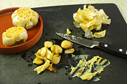 Roasted Garlic into Paste