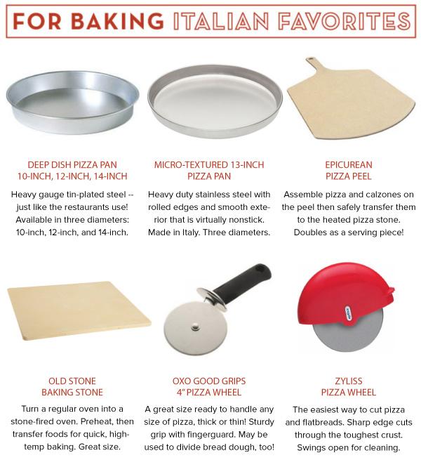 For Baking Italian Favorites