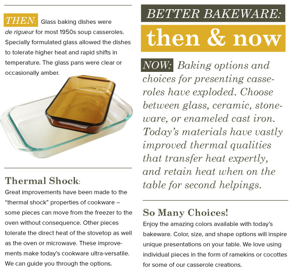 Better Bakeware: Then and Now