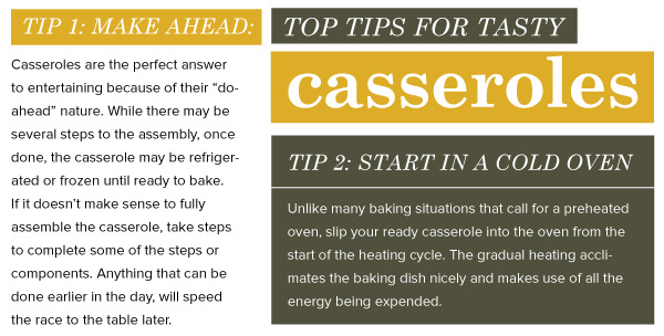 Top Tips for Tasty Casseroles