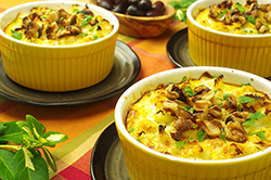 Cauliflower and Brown Rice Casserole