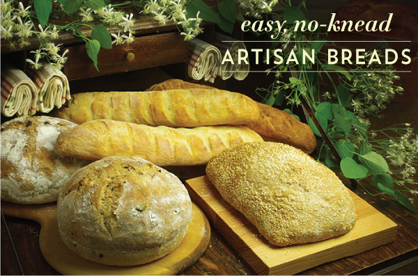 Easy, No-Knead Artisan Breads