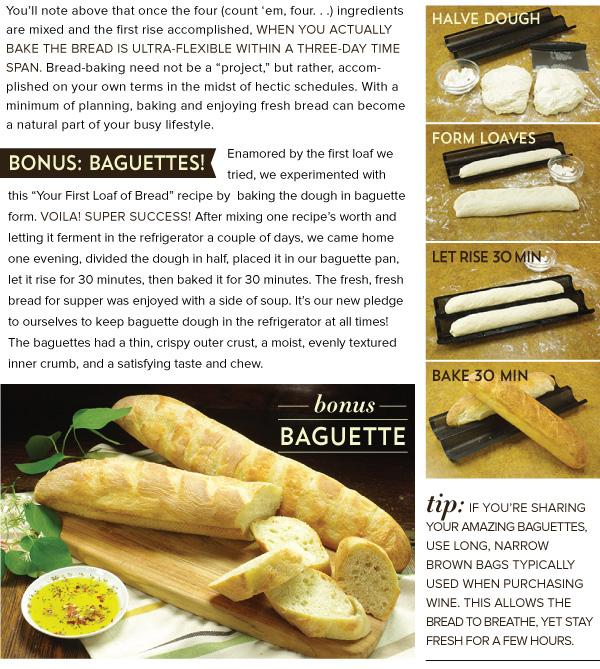 Bonus - Baguettes