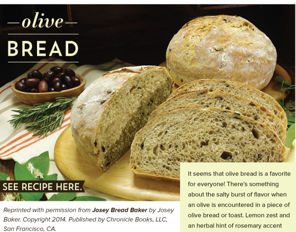 RECIPE: Olive Bread