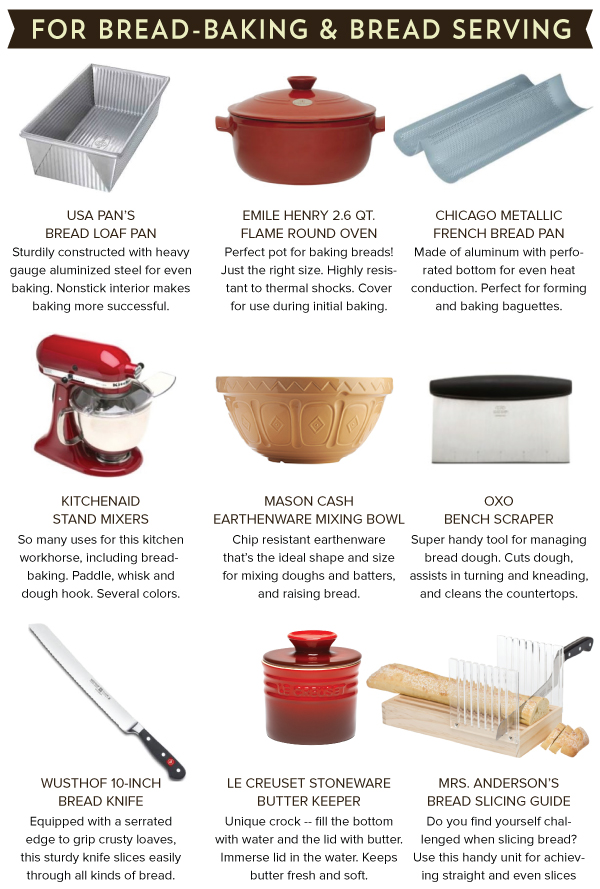 For Bread-Baking