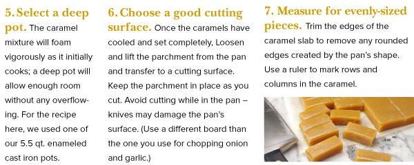 Cutting Caramels