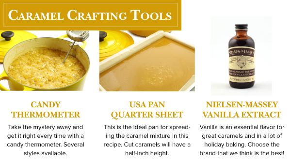 Caramel Crafting Tools