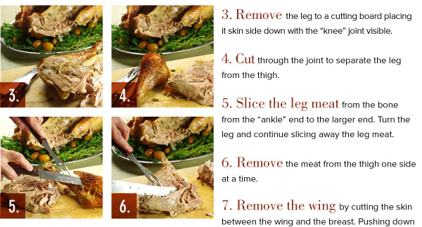 How to Carve the Turkey