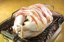 Bacon on Turkey