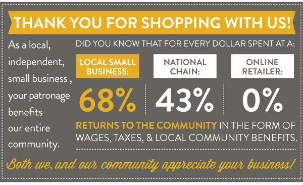 Shopping Locally