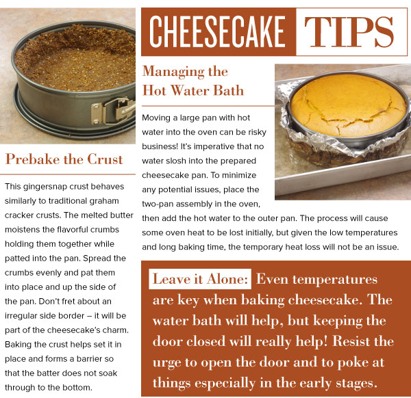 Cheesecake Tips