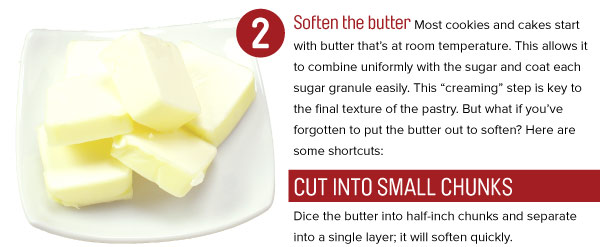 Soften the Butter