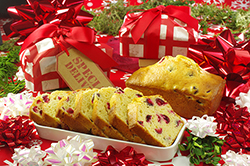 Cranberry-Eggnog Tea Loaves