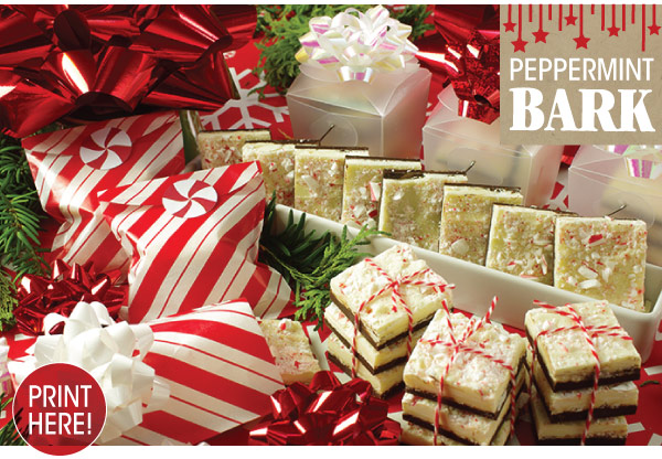 RECIPE: Peppermint Bark