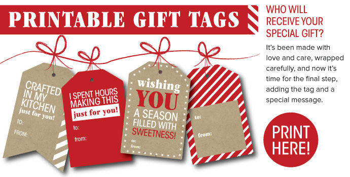 Print Gift Tags Here