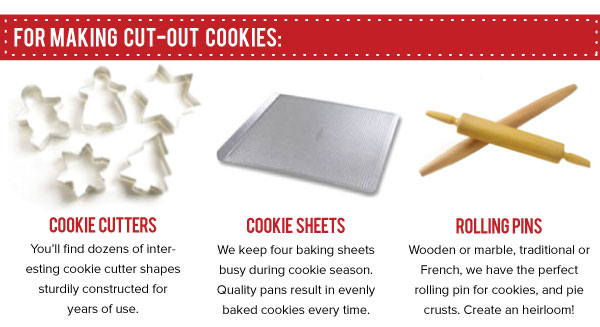 For Making Cut-Out Cookies