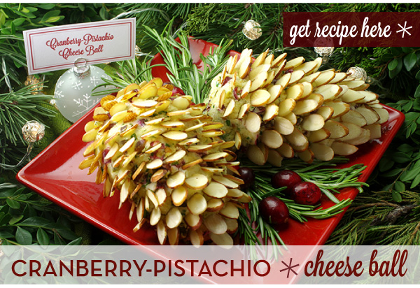 RECIPE: Cranberry Pistachio Cheese Ball
